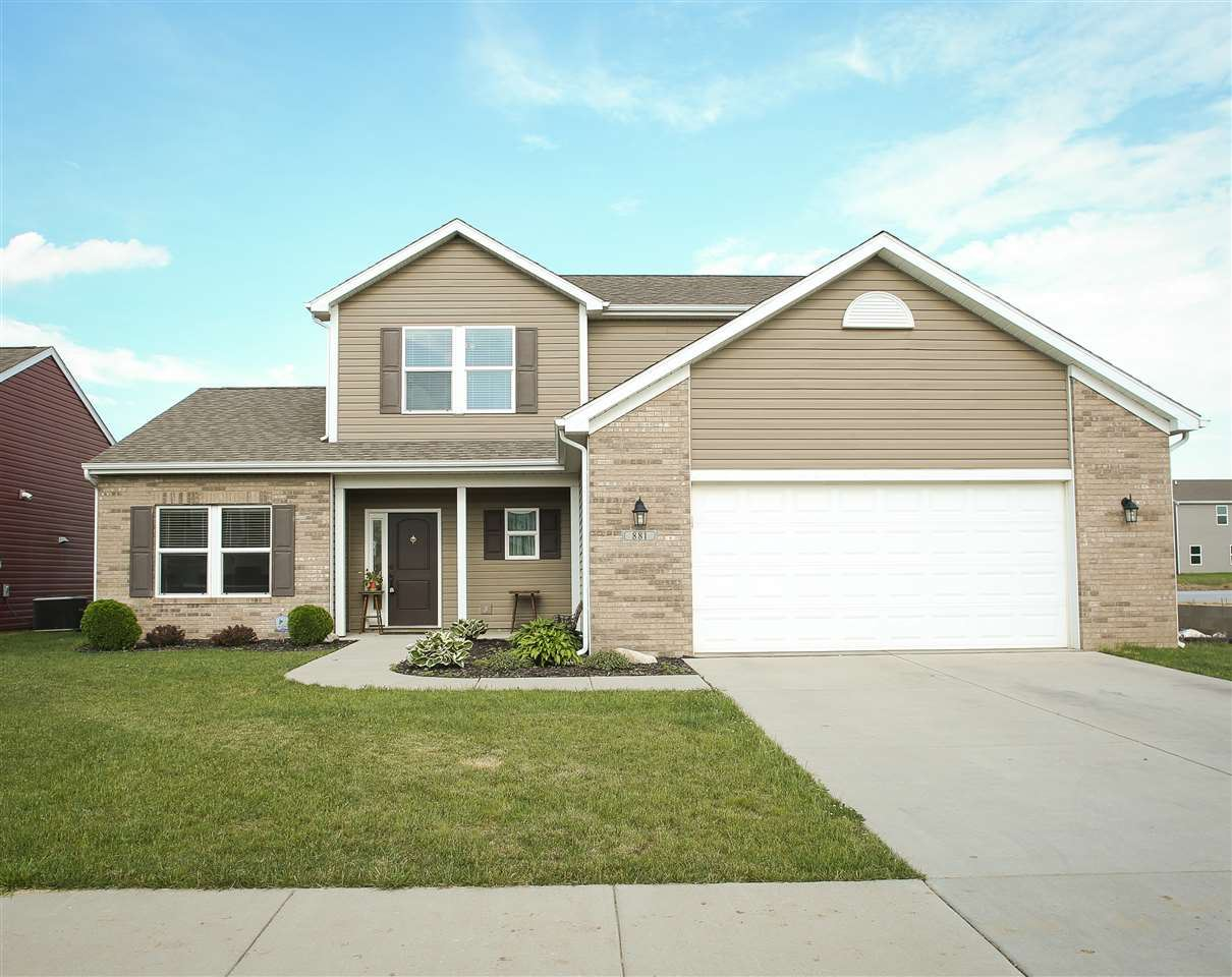 881 Clydesdale Drive, Lafayette, IN 47905 - #: 202020109