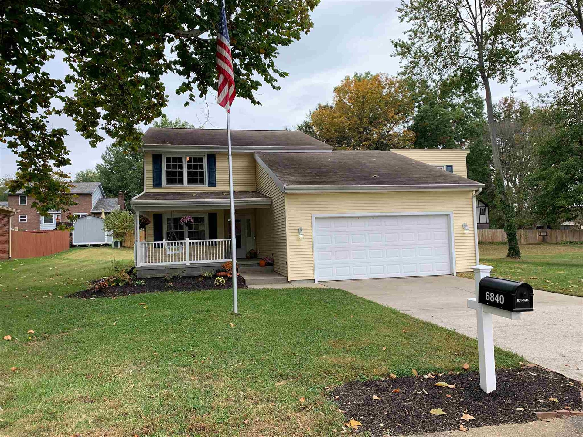 6840 Green Hill Drive, Evansville, IN 47711 - #: 202041150