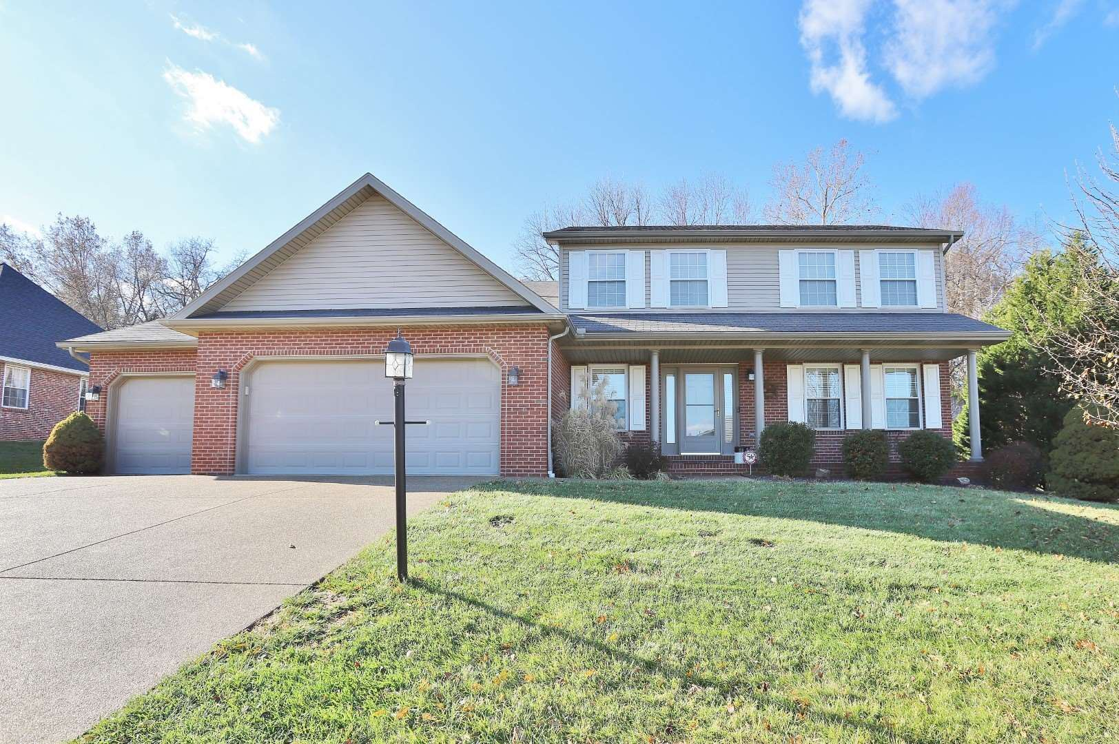 9122 Big Hill Drive, Evansville, IN 47711 - #: 201953162
