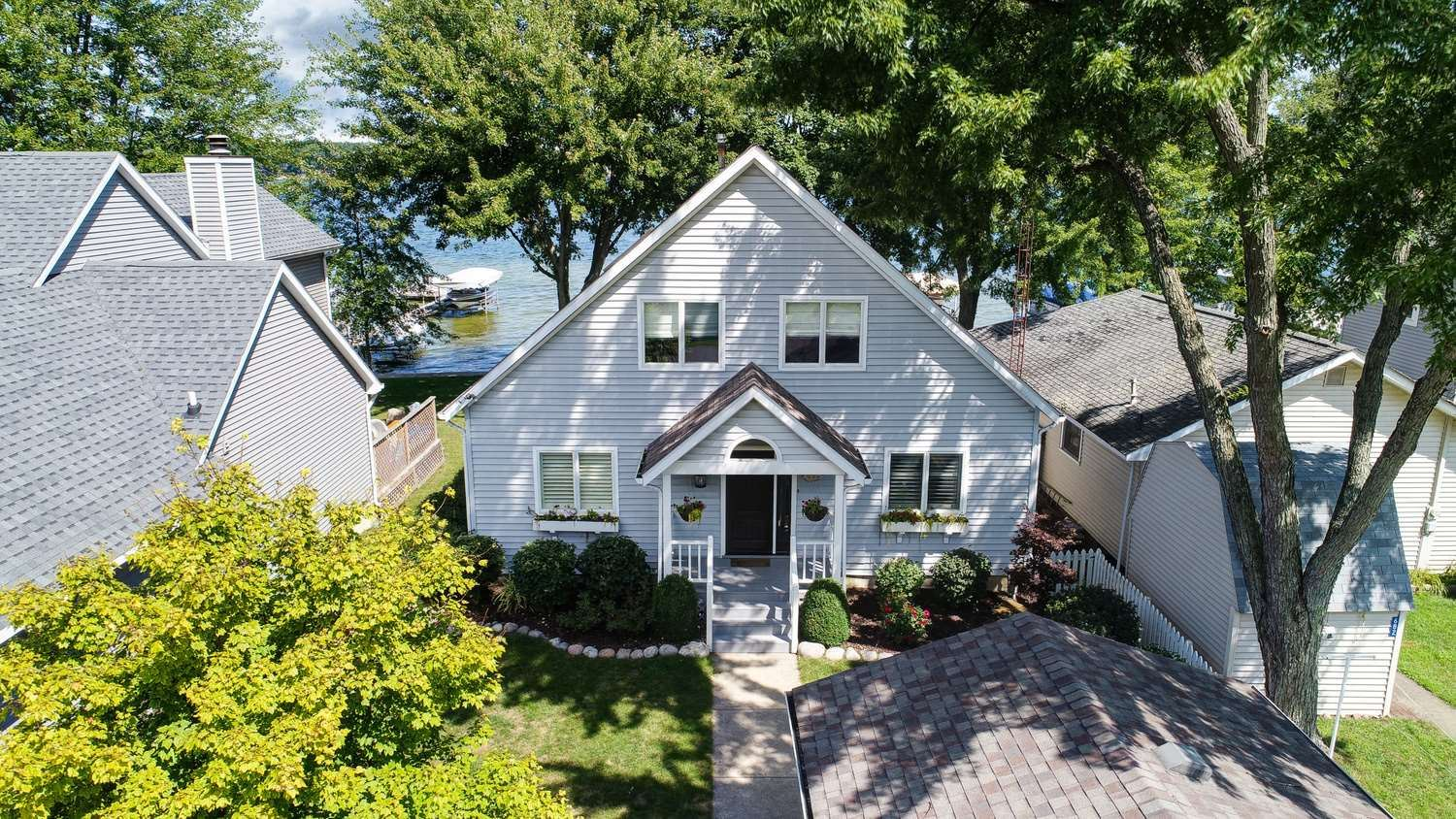 684 S Clear Lake Drive, Fremont, IN 46737 - #: 202010165