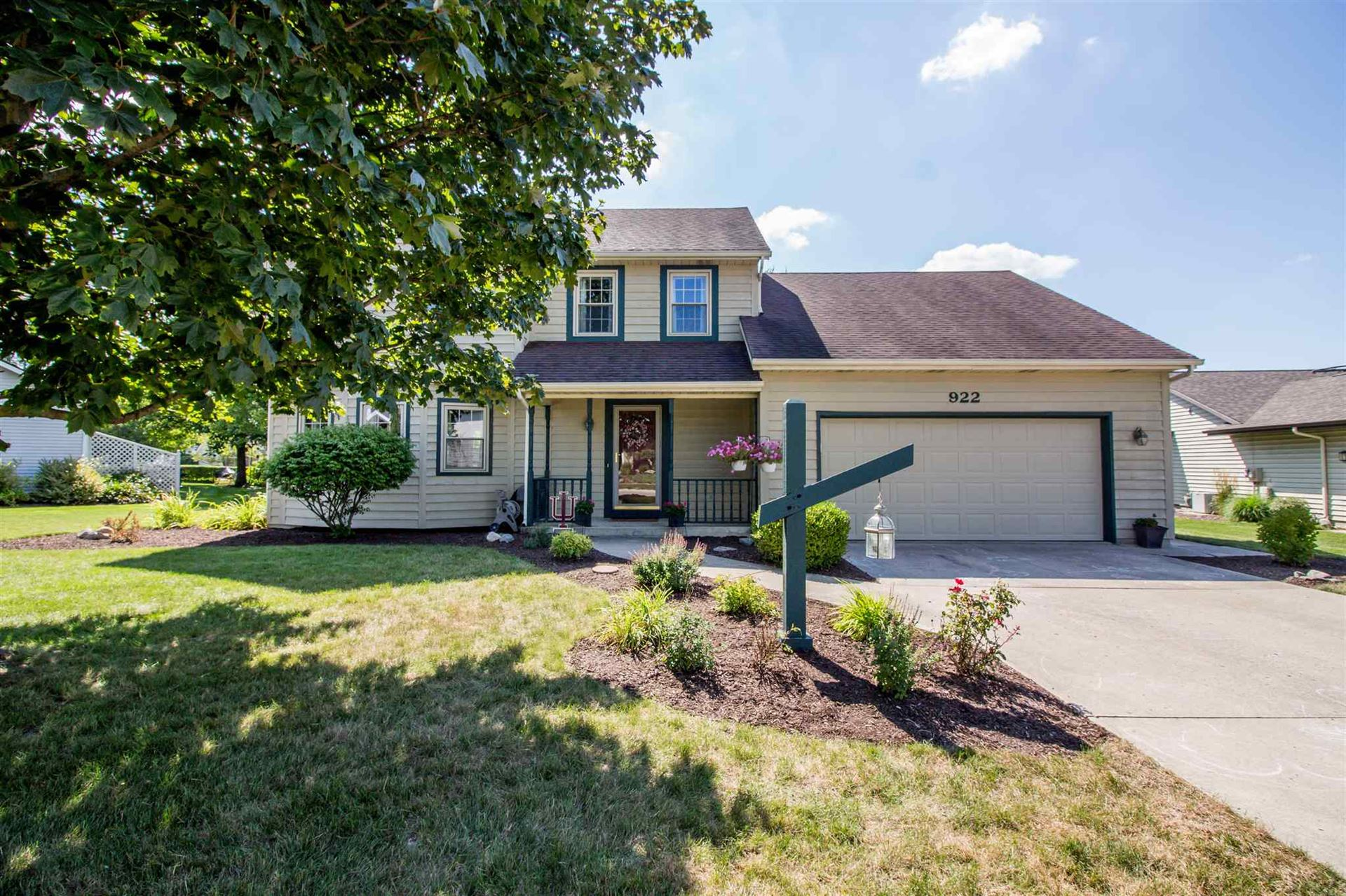 922 Willowind Trail, Fort Wayne, IN 46845 - #: 202031168