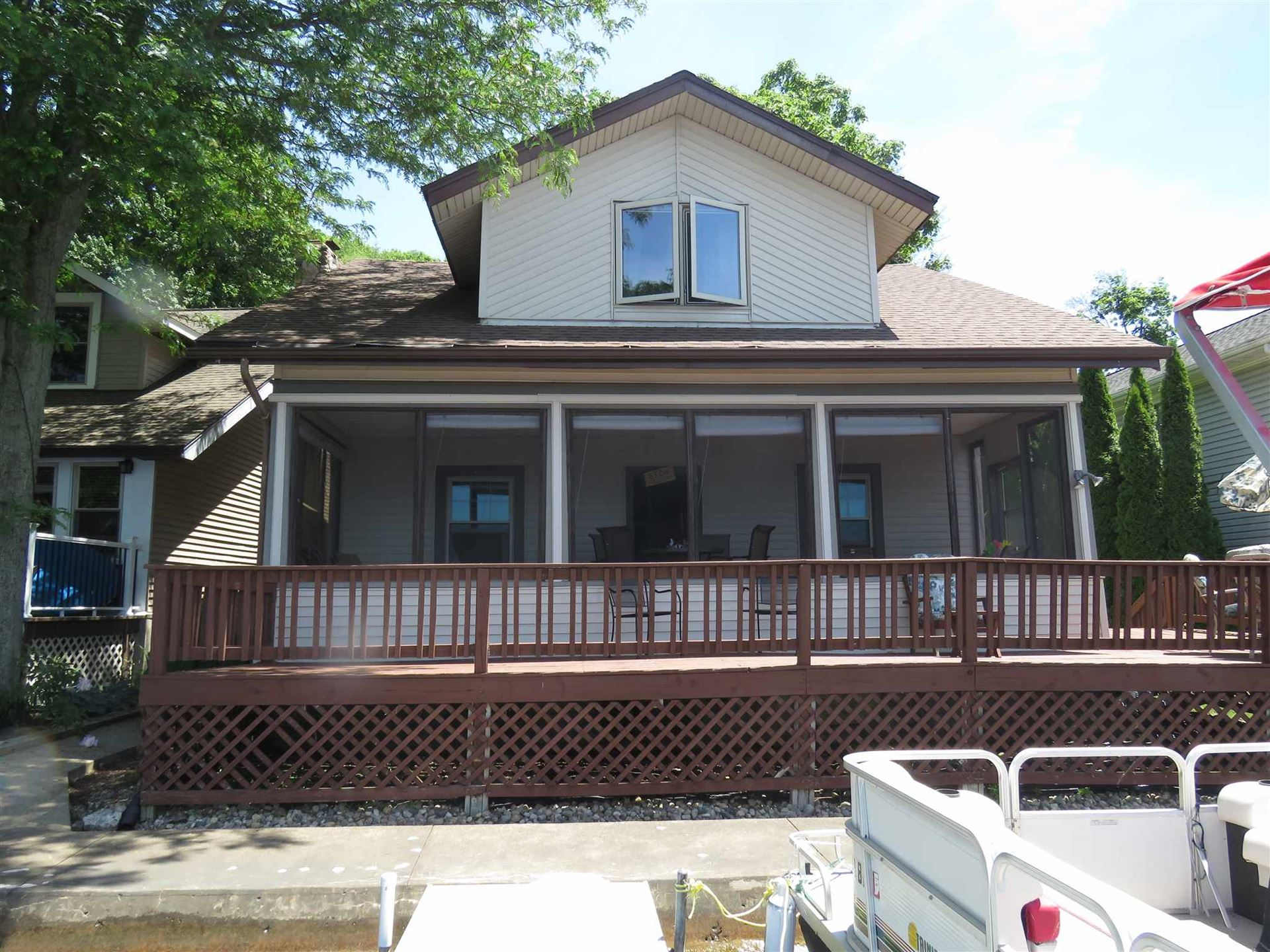 560 Spring Beach Road, Rome City, IN 46784 - #: 202021213