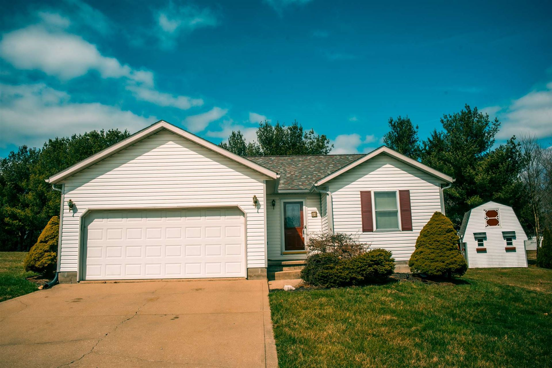 10 TAYLOR RUN RD, Bedford, IN 47421 - #: 202010231