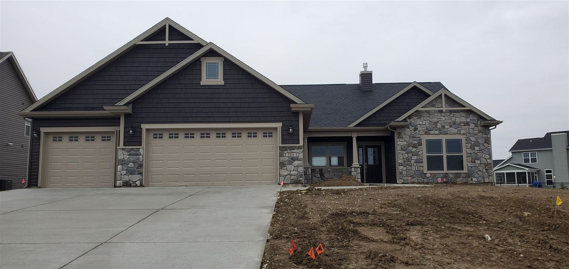 3416 Dolerite Court, West Lafayette, IN 47906 - #: 202038265