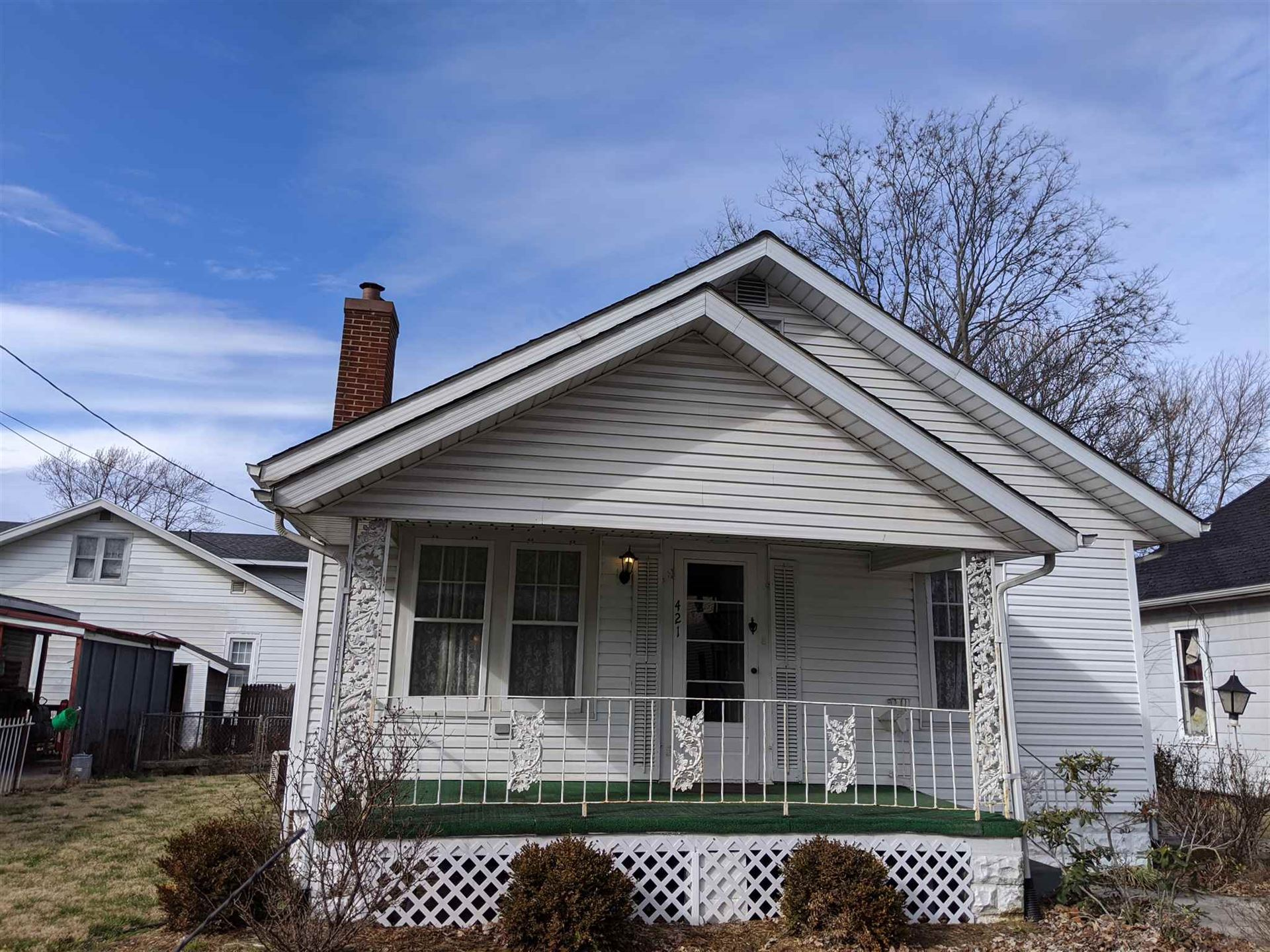 421 S 4th Street, Vincennes, IN 47591 - #: 202004280