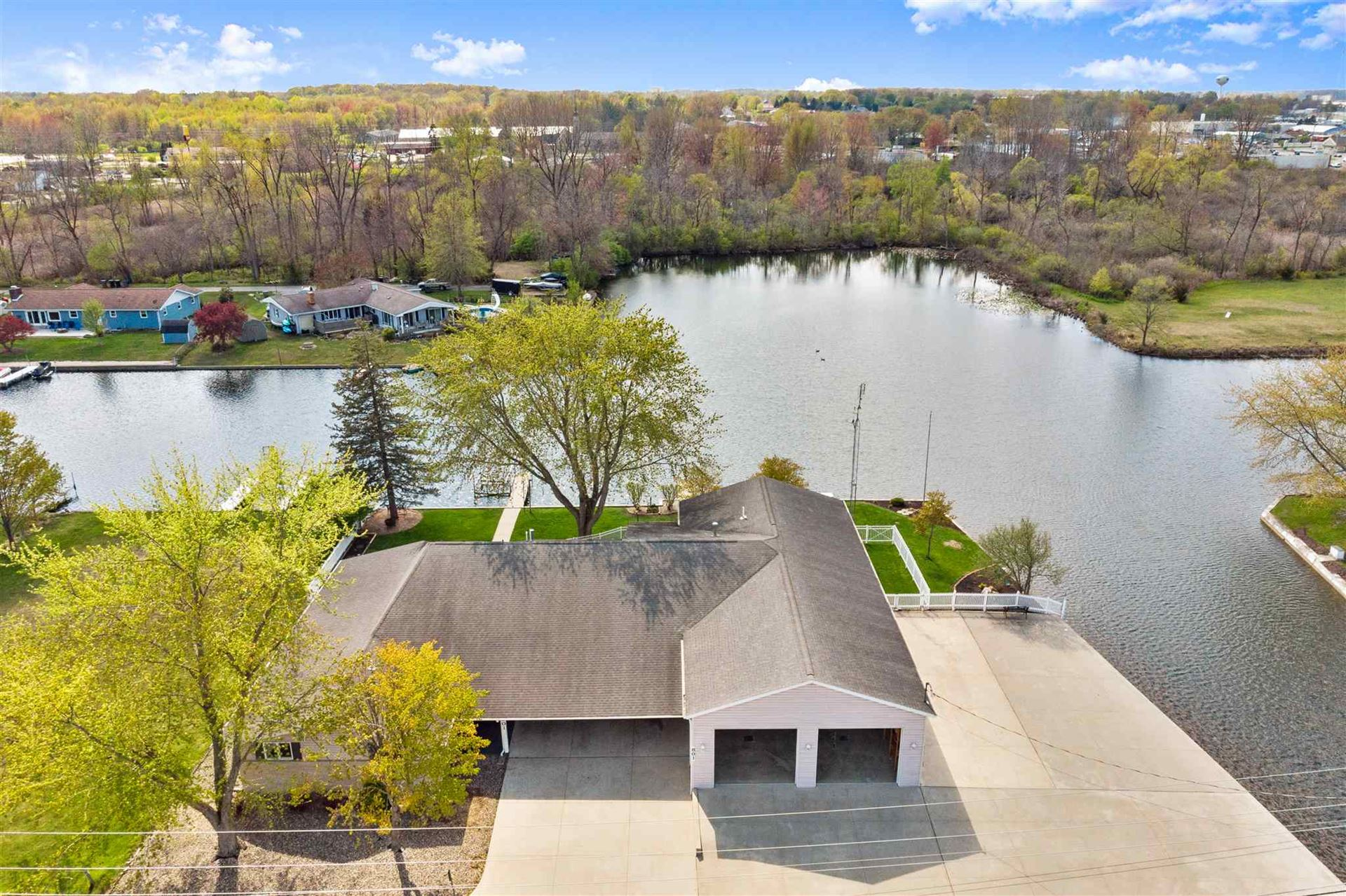 801 S Harkless Drive, Syracuse, IN 46567 - #: 202017364