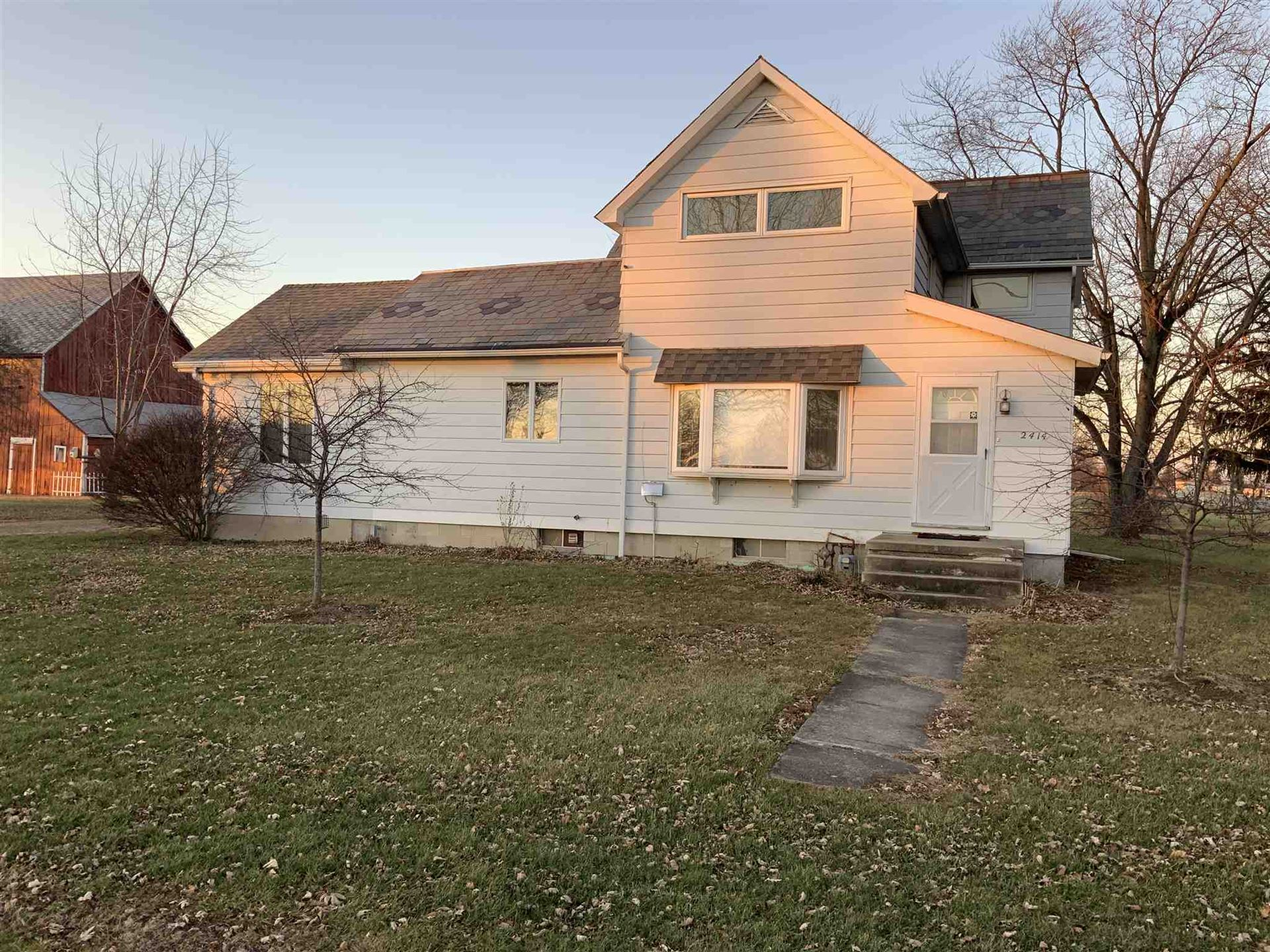 2414 S County Line Road, Yoder, IN 46798 - #: 201953379