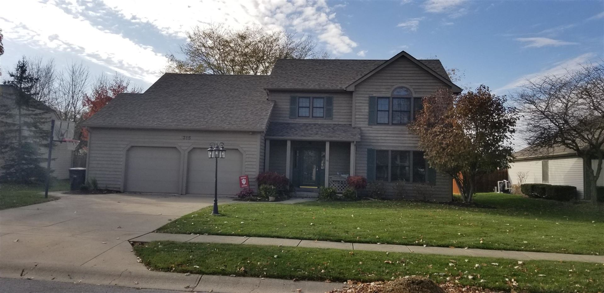 8315 Hunters knoll Place Place, Fort Wayne, IN 46825 - #: 201950476