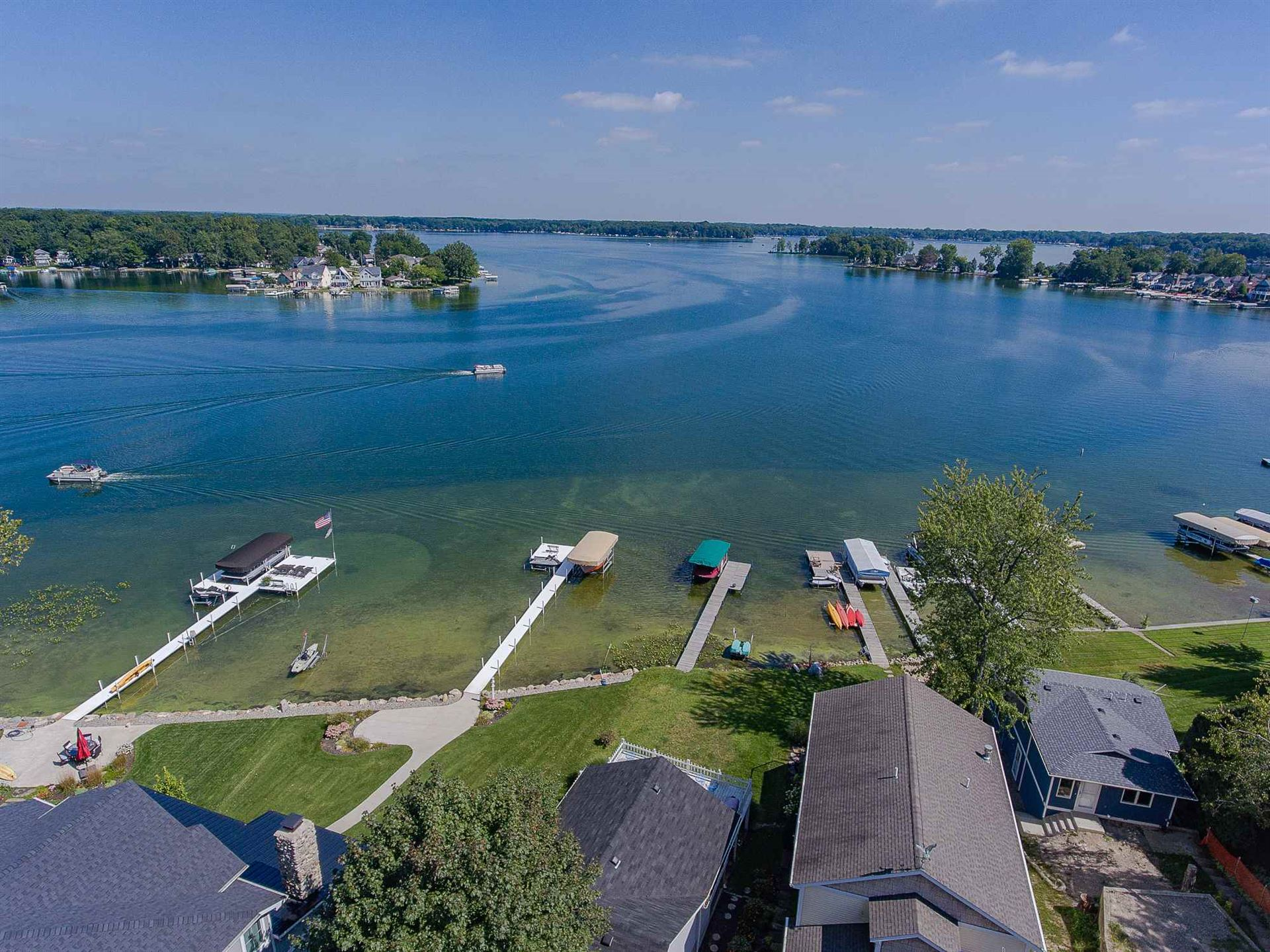1124 S Clear Lake Drive, Fremont, IN 46737 - #: 202026490