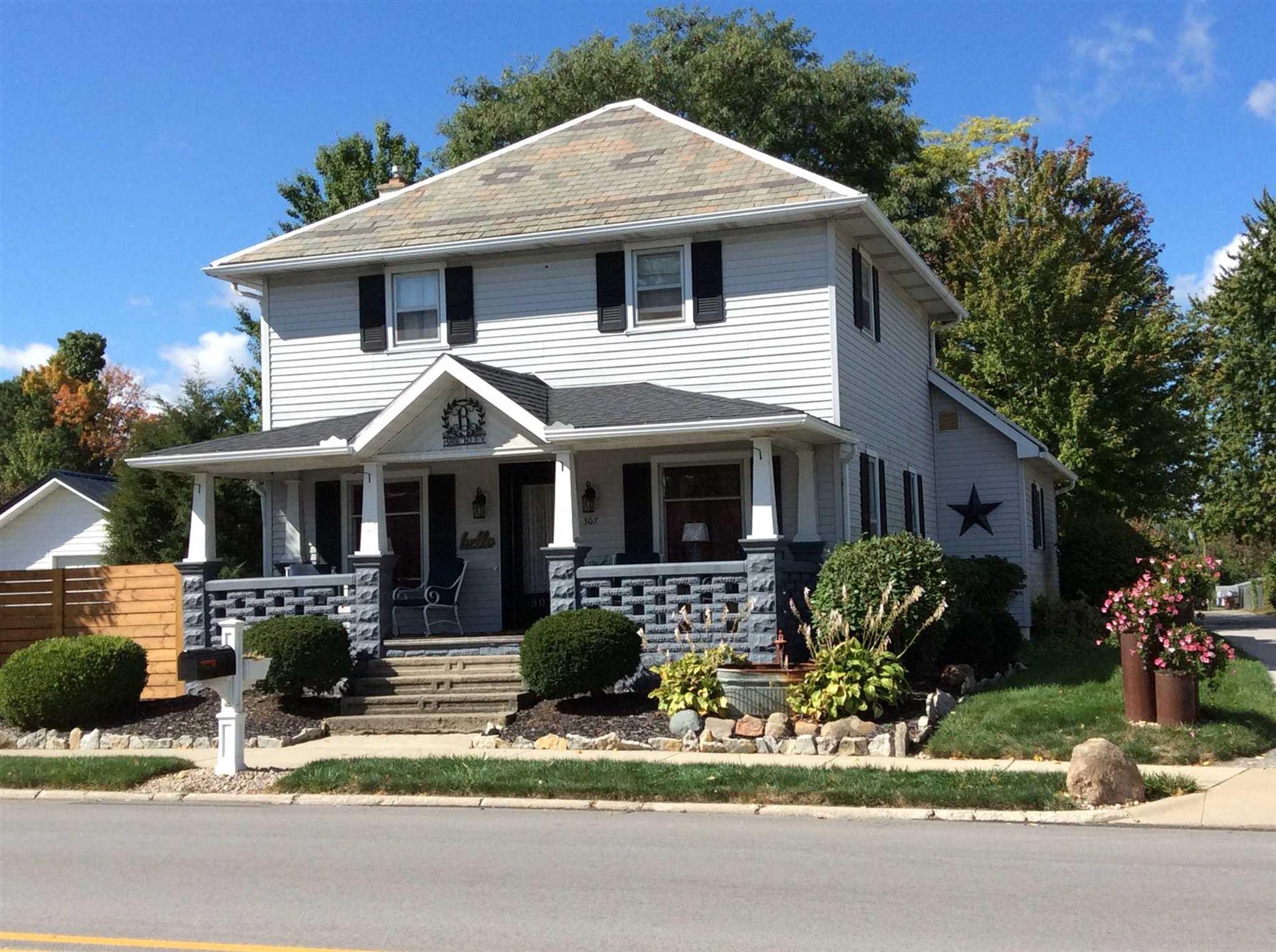 307 N Jefferson Street, Ossian, IN 46777 - #: 202039495