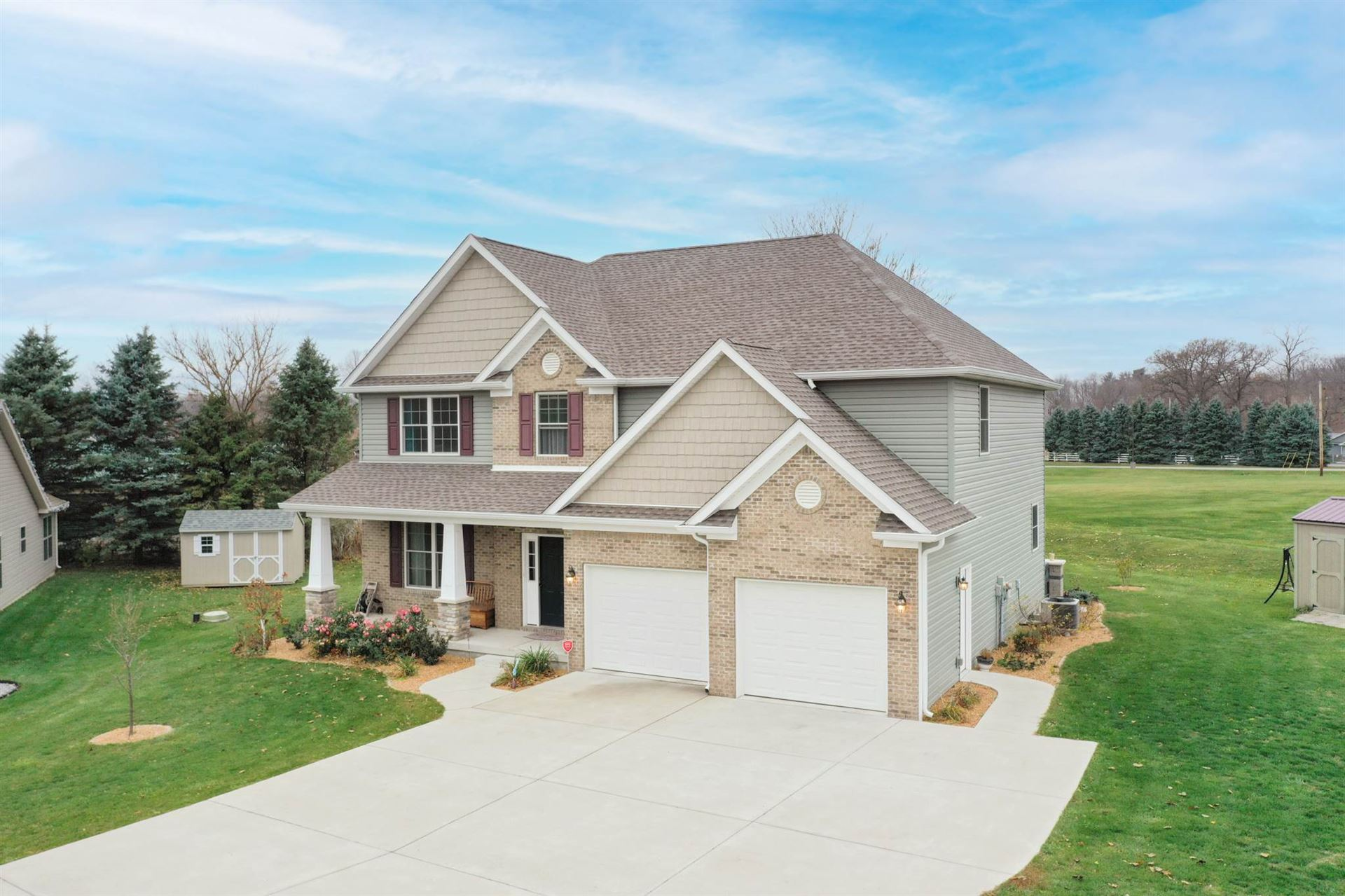 11043 Sunset Court, Monticello, IN 47960 - #: 202045519