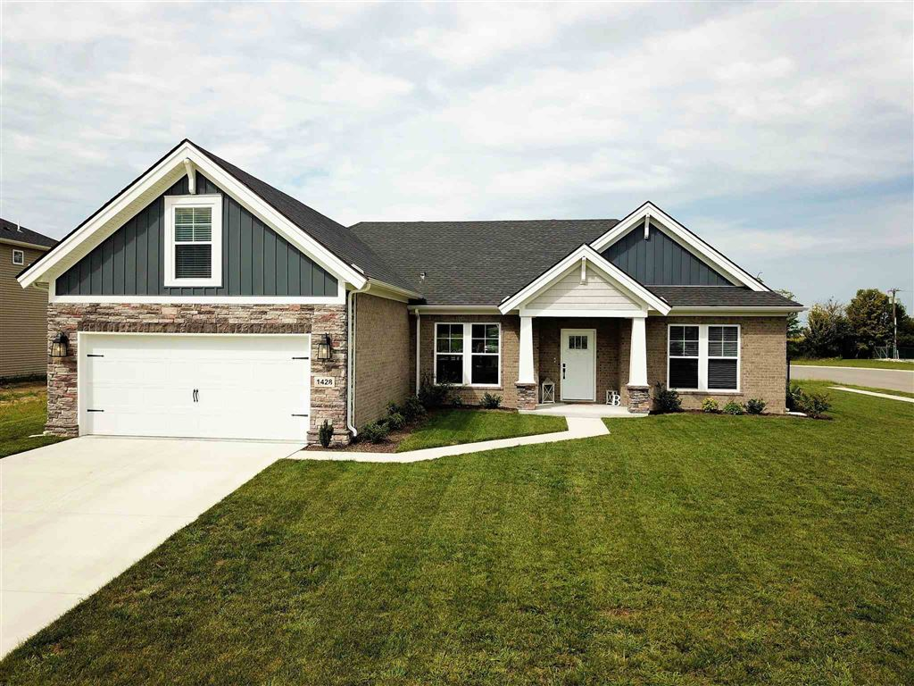 1428 N Niehaus Trail, Huntingburg, IN 47542 - MLS#: 201938523