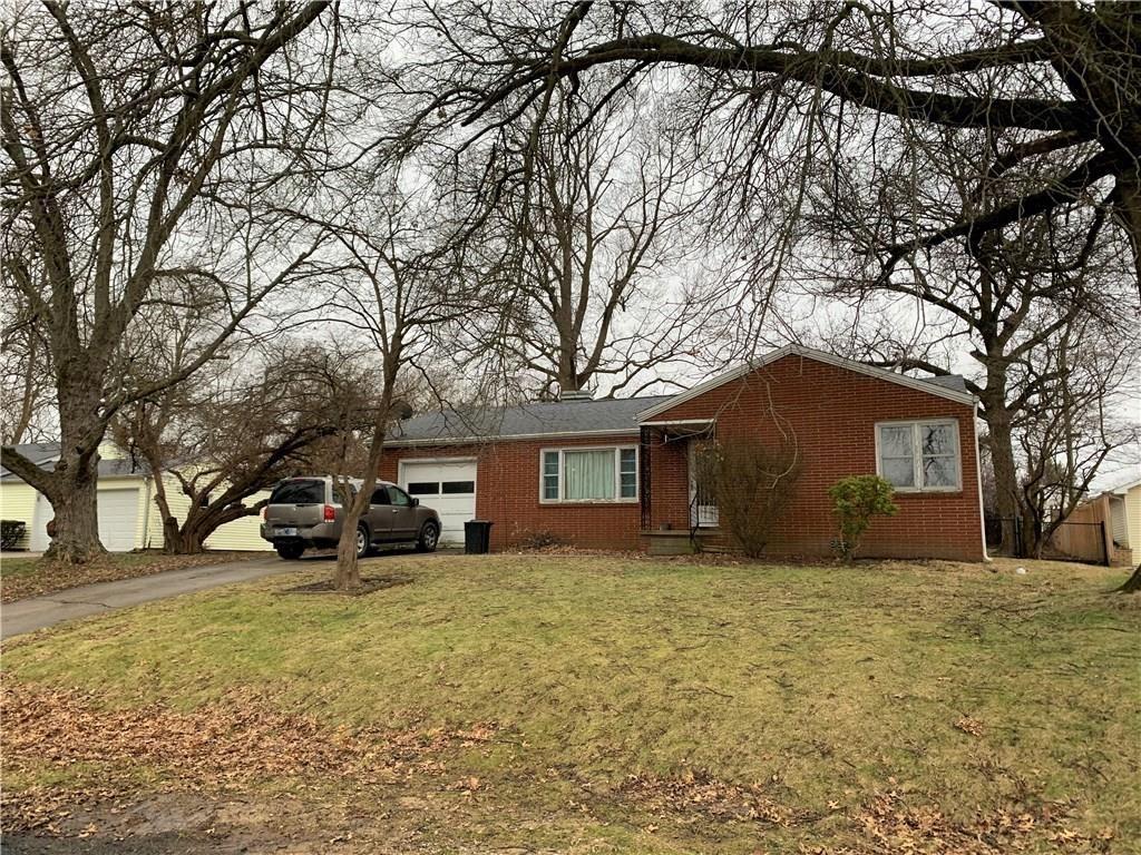 1811 Hillcrest Drive, Crawfordsville, IN 47933 - #: 202004556