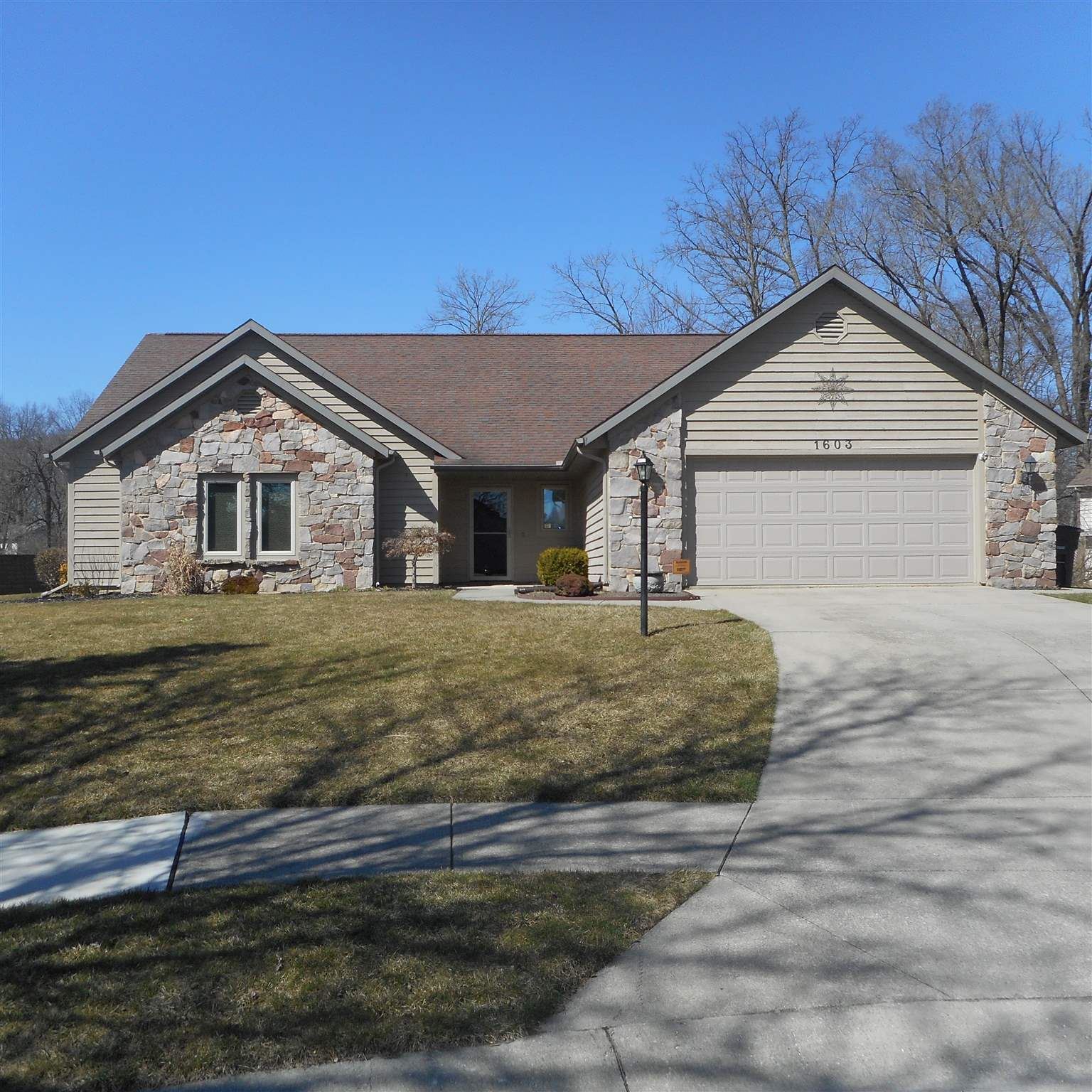 1603 Faulkner Court, Fort Wayne, IN 46815 - #: 202009556