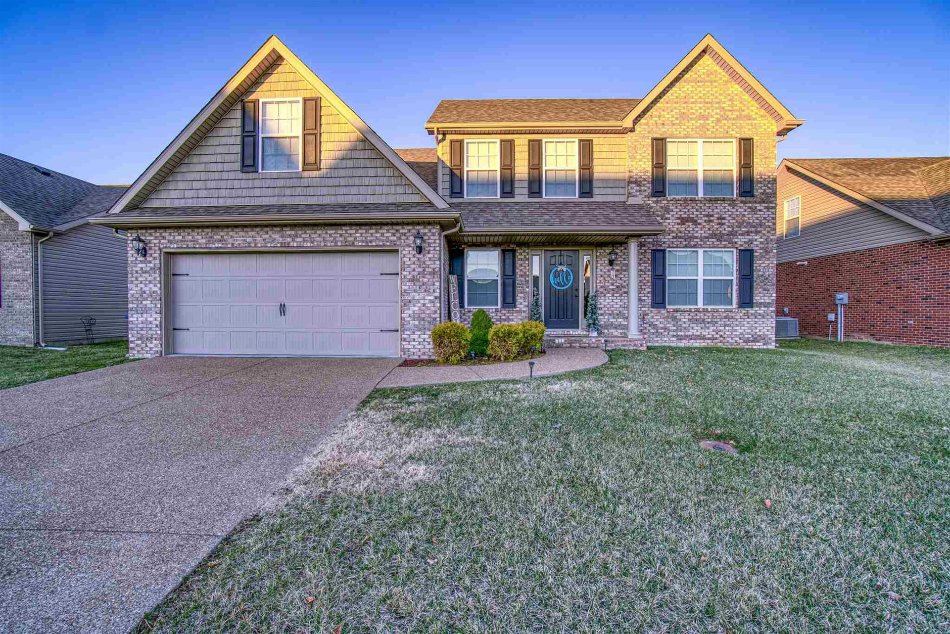 8844 Hartwell Drive, Evansville, IN 47725 - #: 202000561