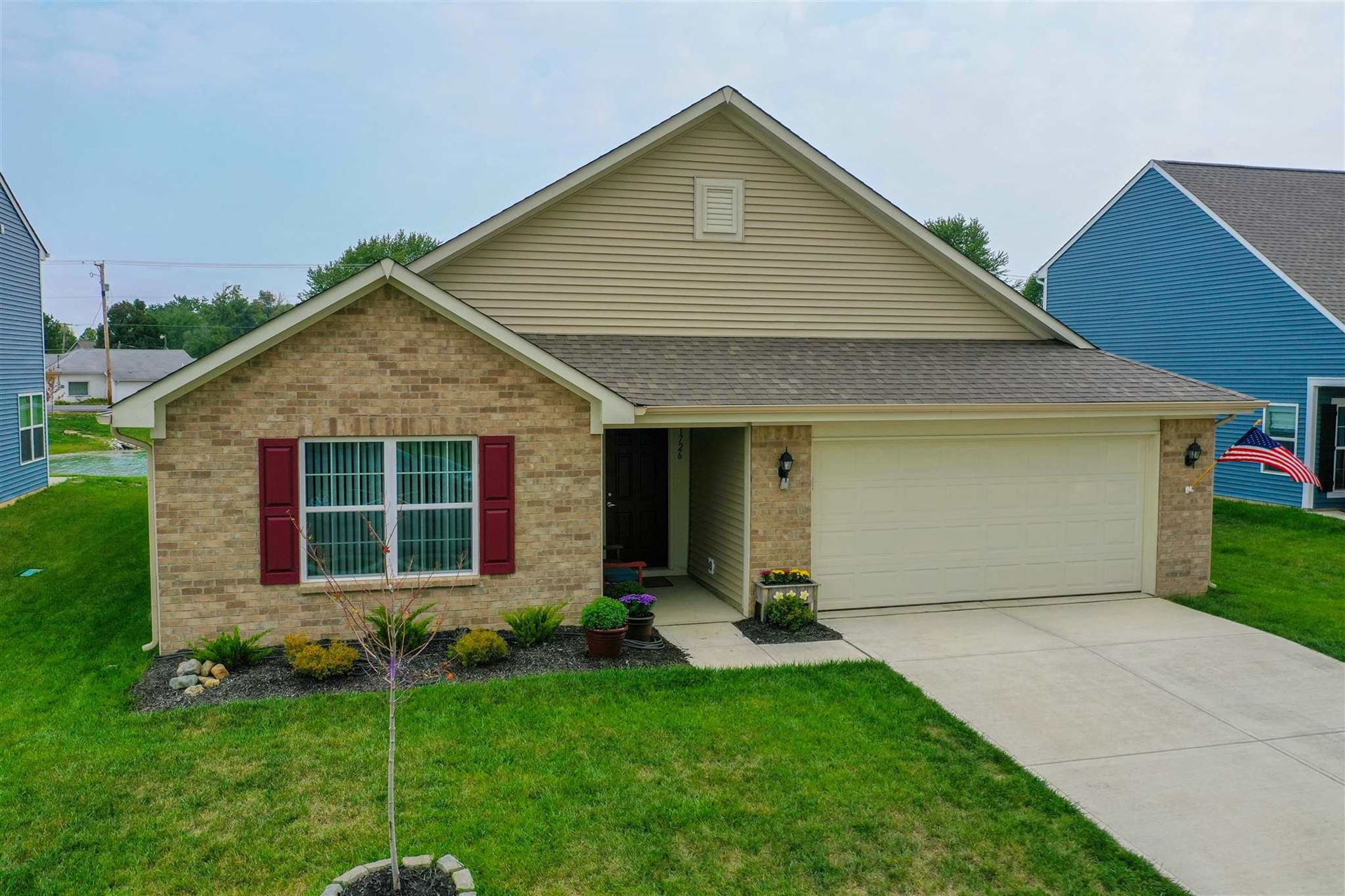 1726 SHADOWBROOK Drive, Marion, IN 46952 - #: 202037632