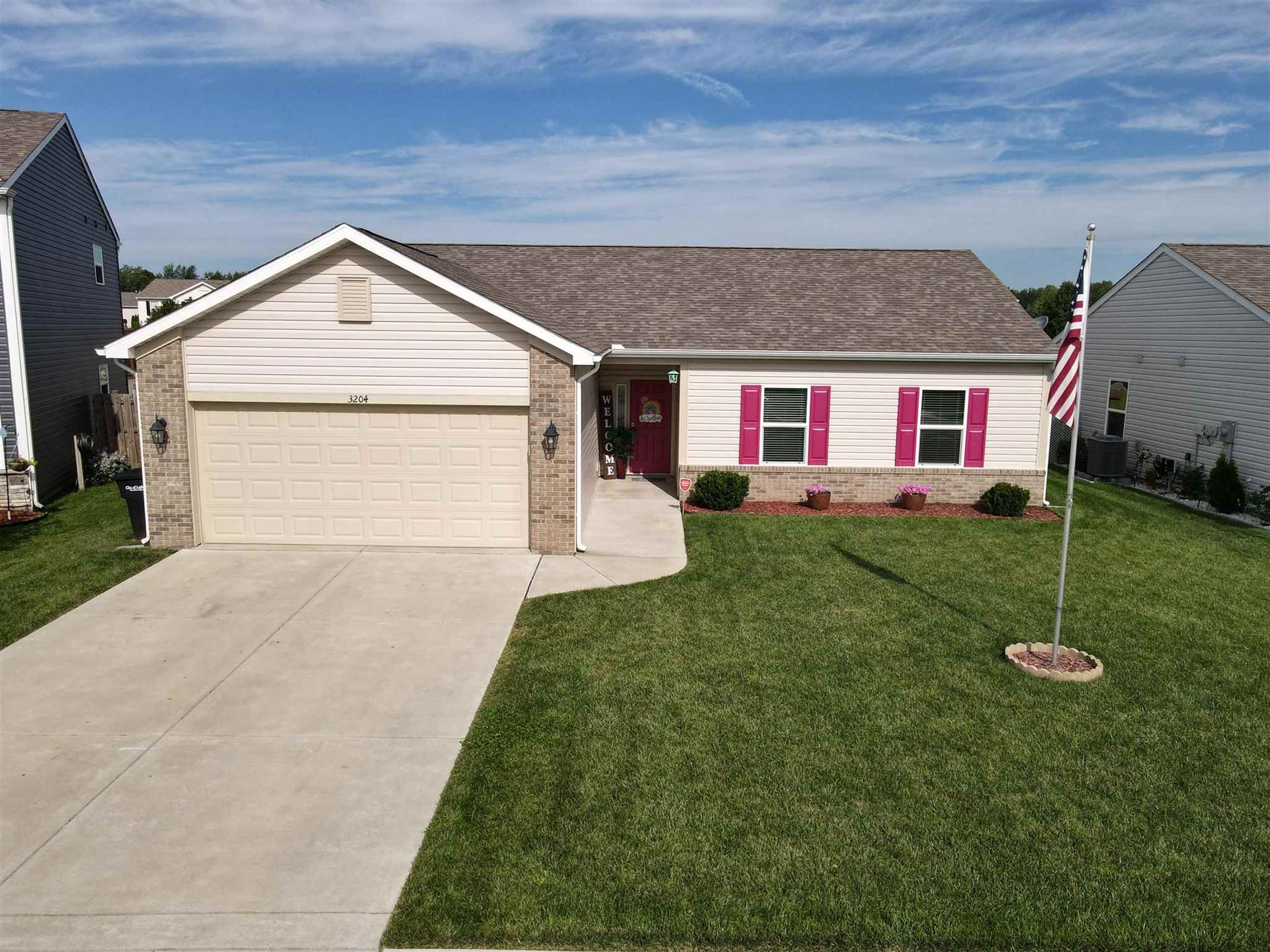 3204 Tanager Drive, Lafayette, IN 47909 - #: 202031660