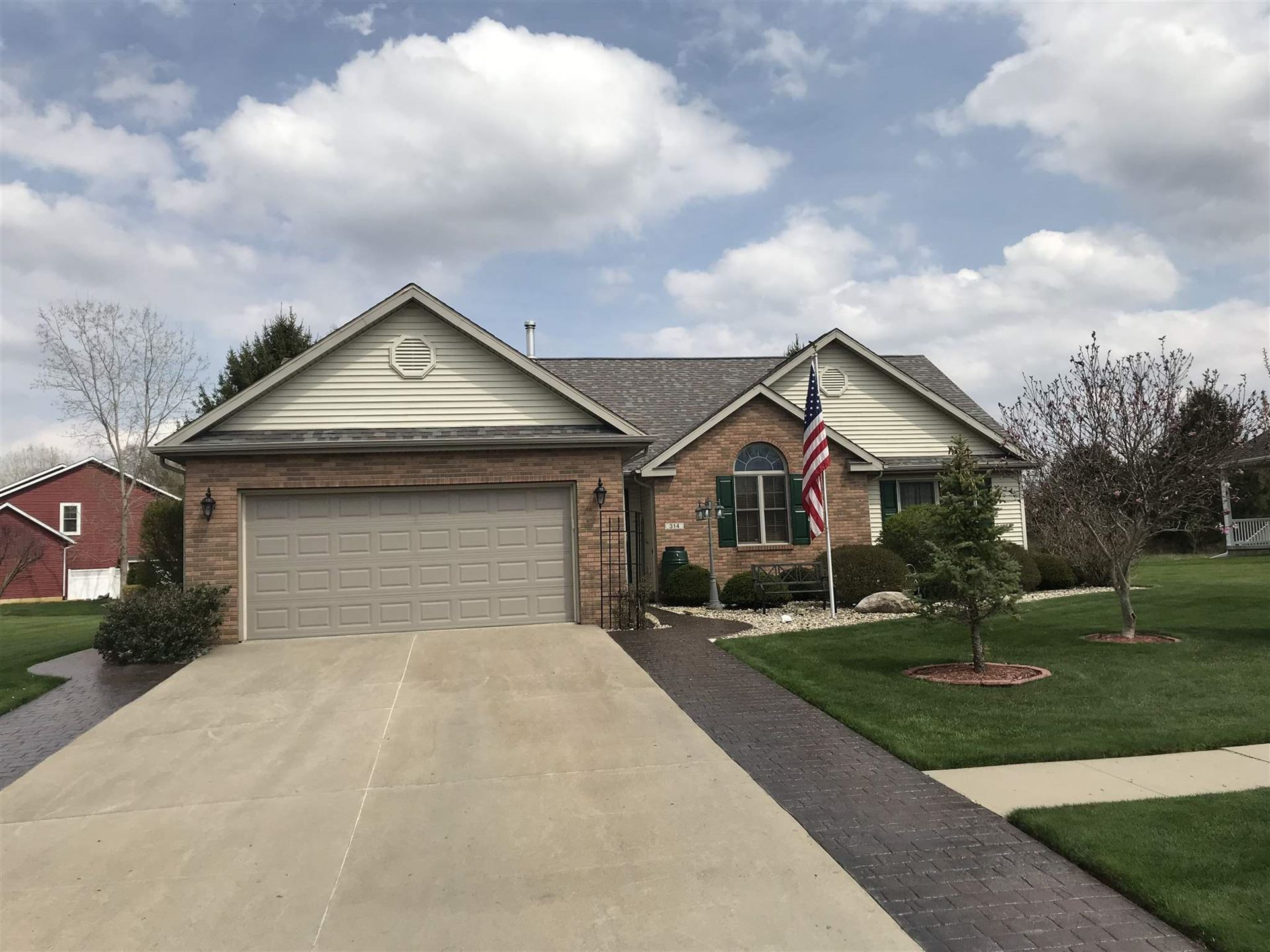 314 Evergreen Drive, Plymouth, IN 46563 - #: 202014694