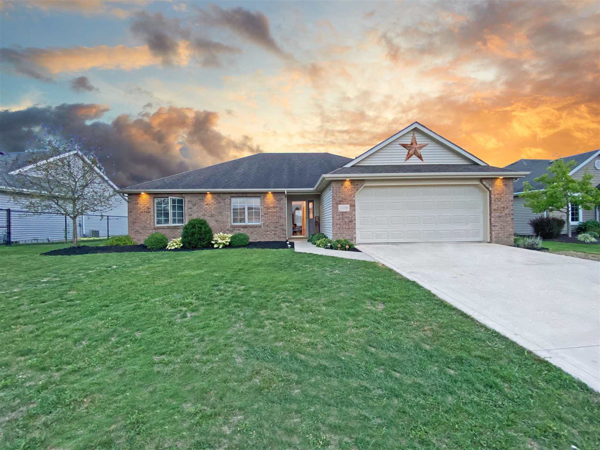 1109 Sycamore Court, Auburn, IN 46706 - #: 202036744