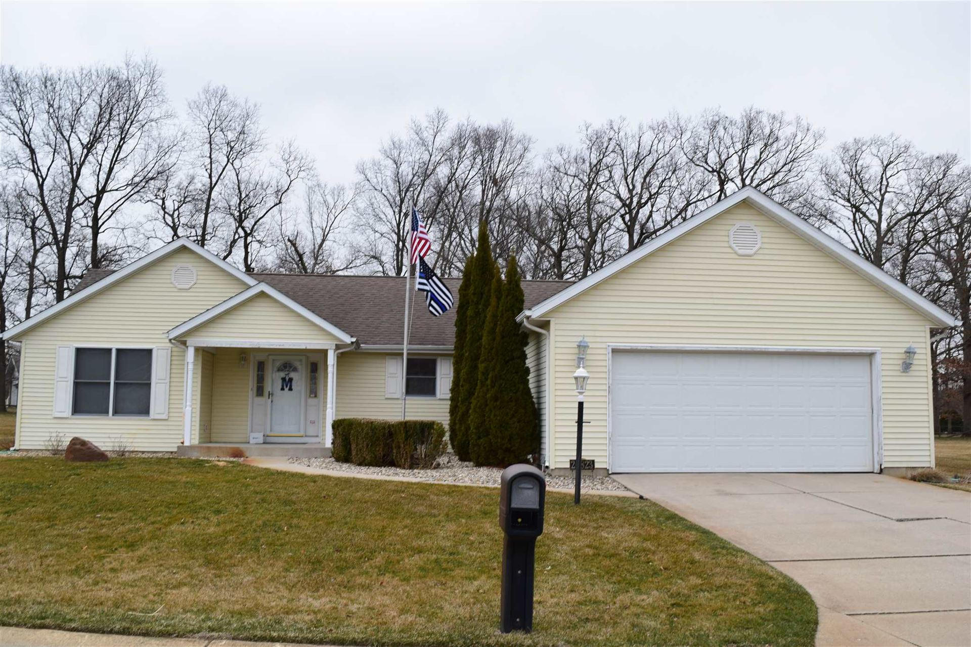 25823 Wild Berry Drive, South Bend, IN 46619 - #: 202009785