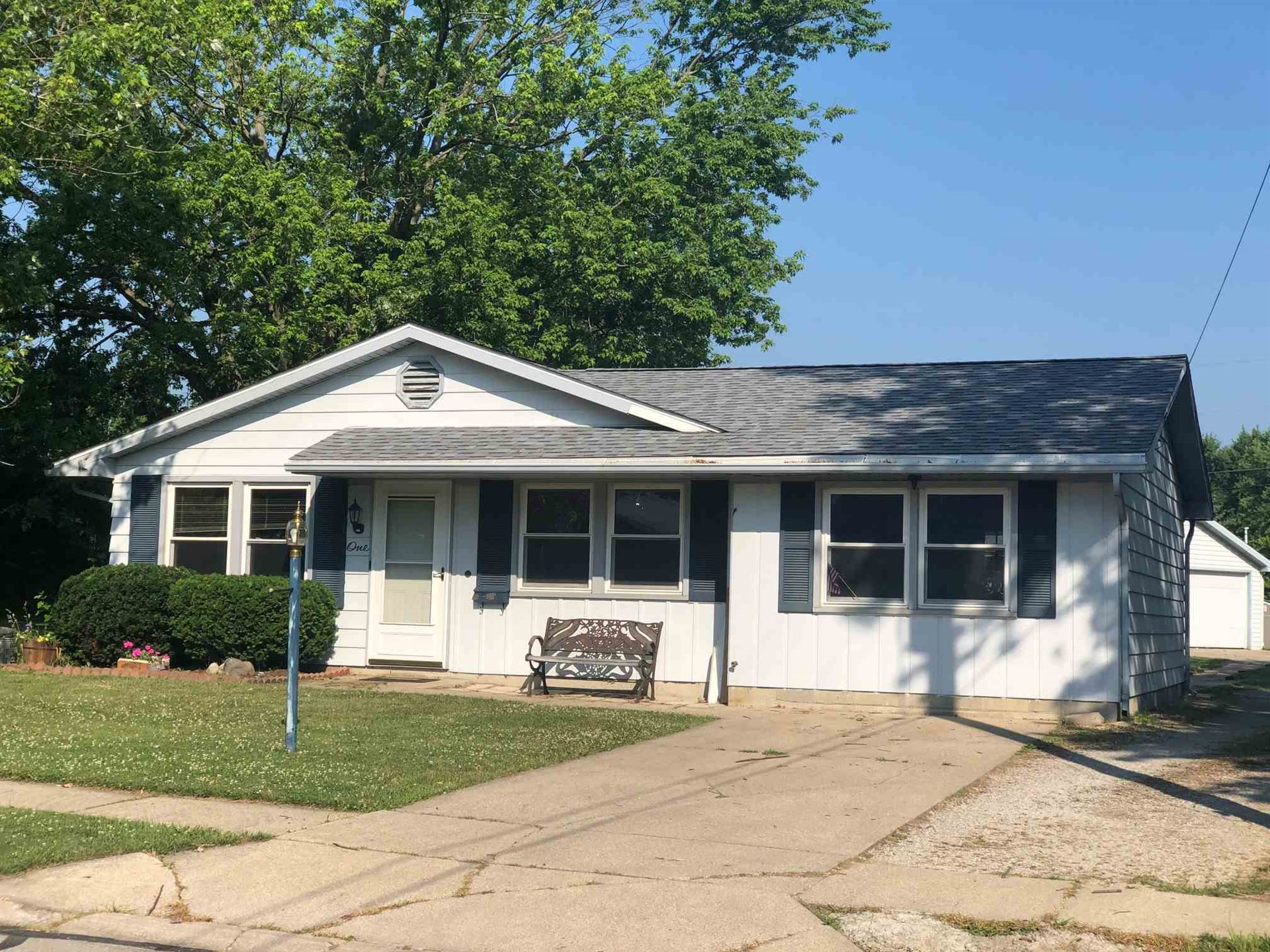 1 Azuba Lane, Columbia City, IN 46725 - #: 202025832