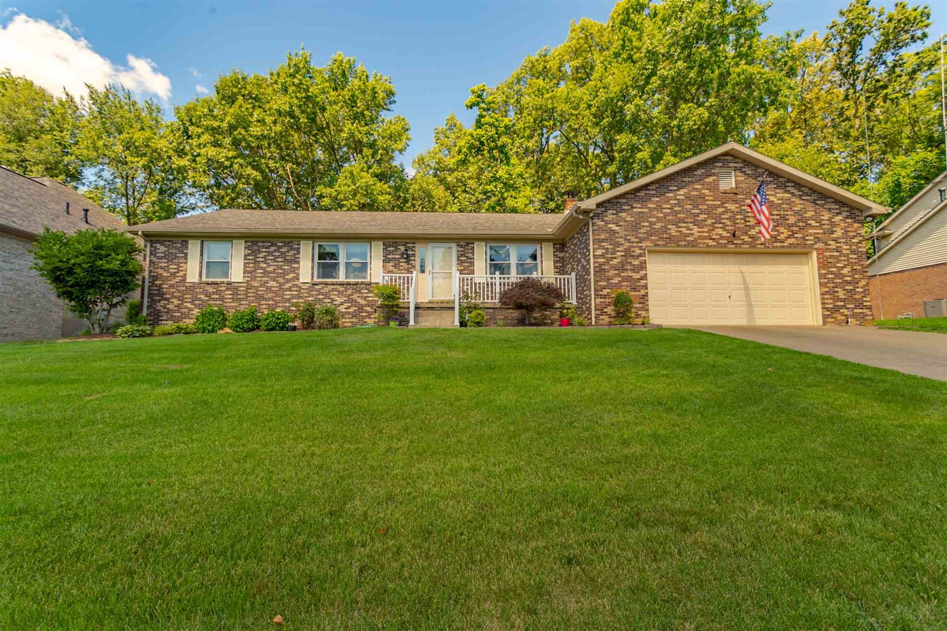 8620 Sunny Brook Drive, Evansville, IN 47725 - #: 202023935