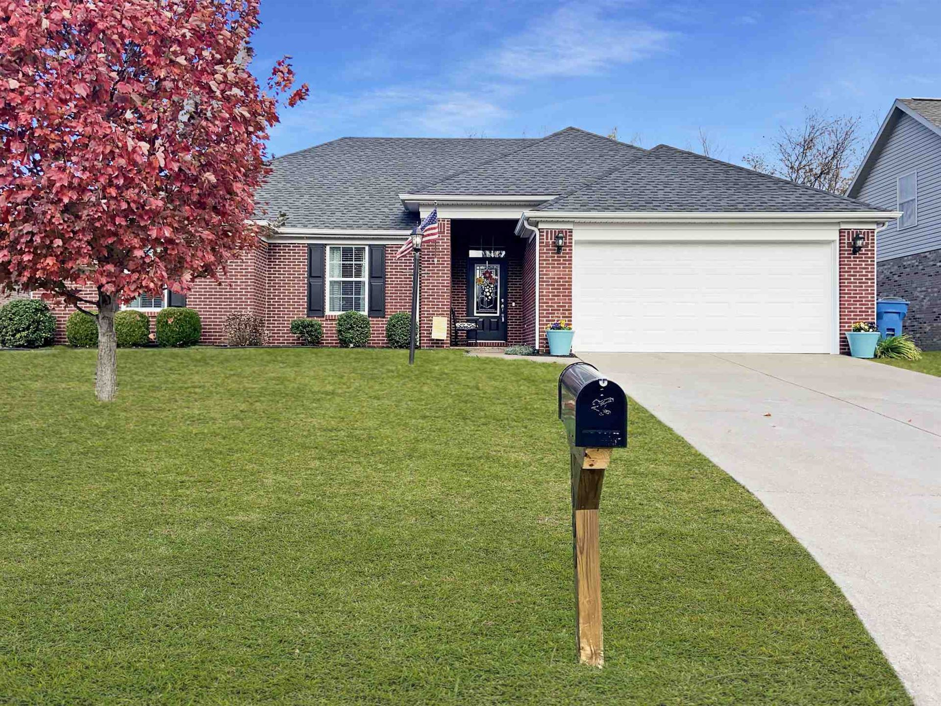 1000 Fawn Creek Drive, Evansville, IN 47712 - #: 202040967