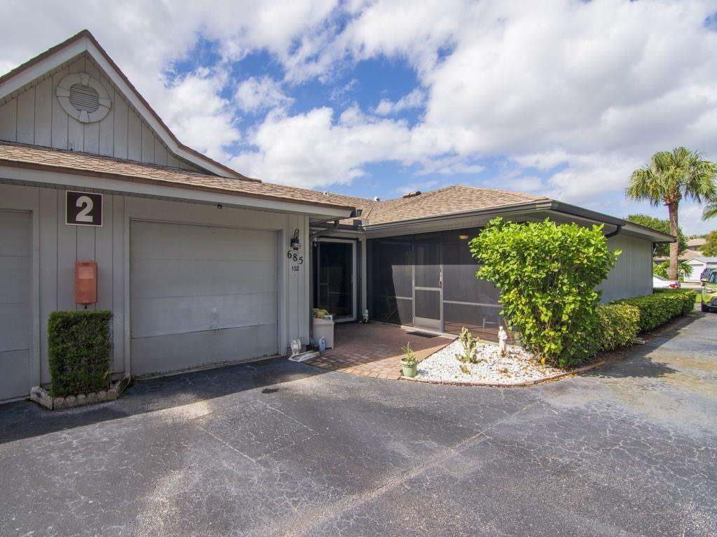 685 Timber Court SW #102, Vero Beach, FL 32962 - #: 237054