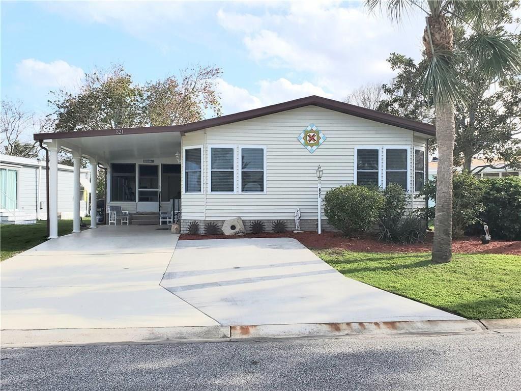 821 Hyacinth Circle, Barefoot Bay, FL 32976 - MLS#: 230419