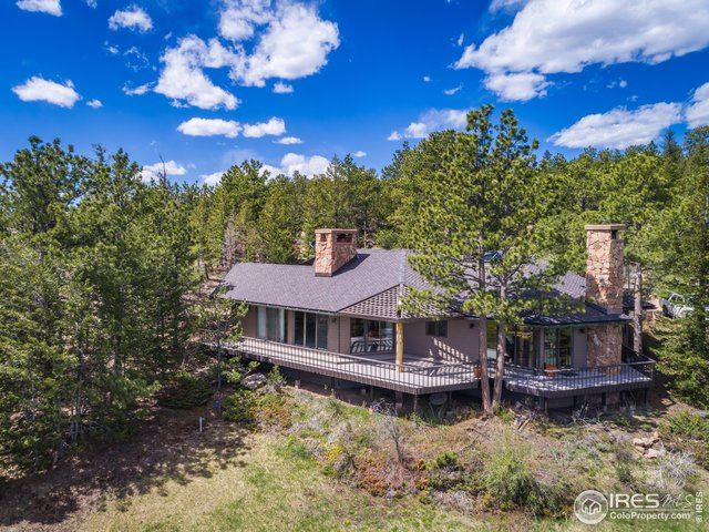 750 Fox Acres Dr W, Red Feather Lakes, CO 80545 - #: 913156