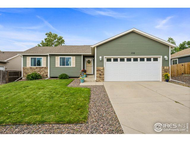 316 Basswood Ave, Johnstown, CO 80534 - #: 945435
