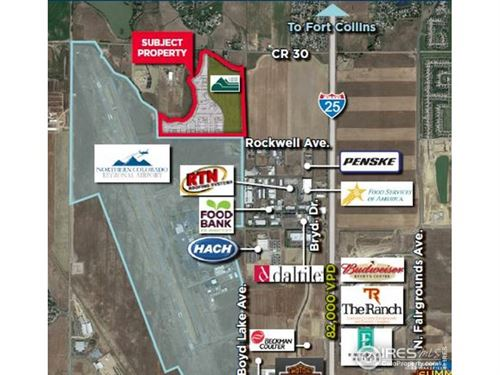 Photo of (TBD) Airpark North, Loveland, CO 80538 (MLS # 875475)