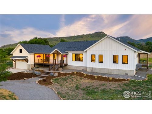 Photo of 74 County Road 69, Lyons, CO 80540 (MLS # 915585)