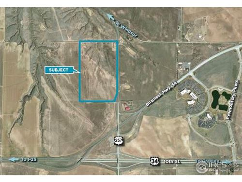 Photo of (TBD) 257 Hwy, Greeley, CO 80634 (MLS # 775610)