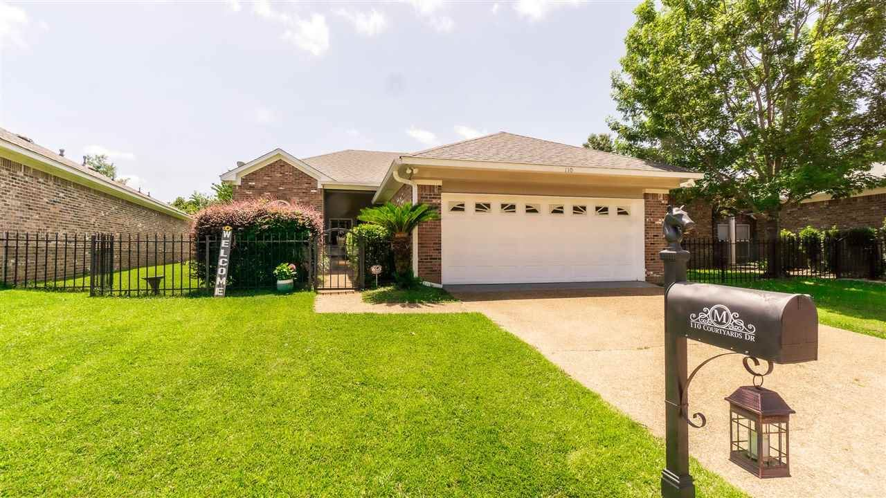 110 COURTYARDS DR, Pearl, MS 39208 - MLS#: 341387