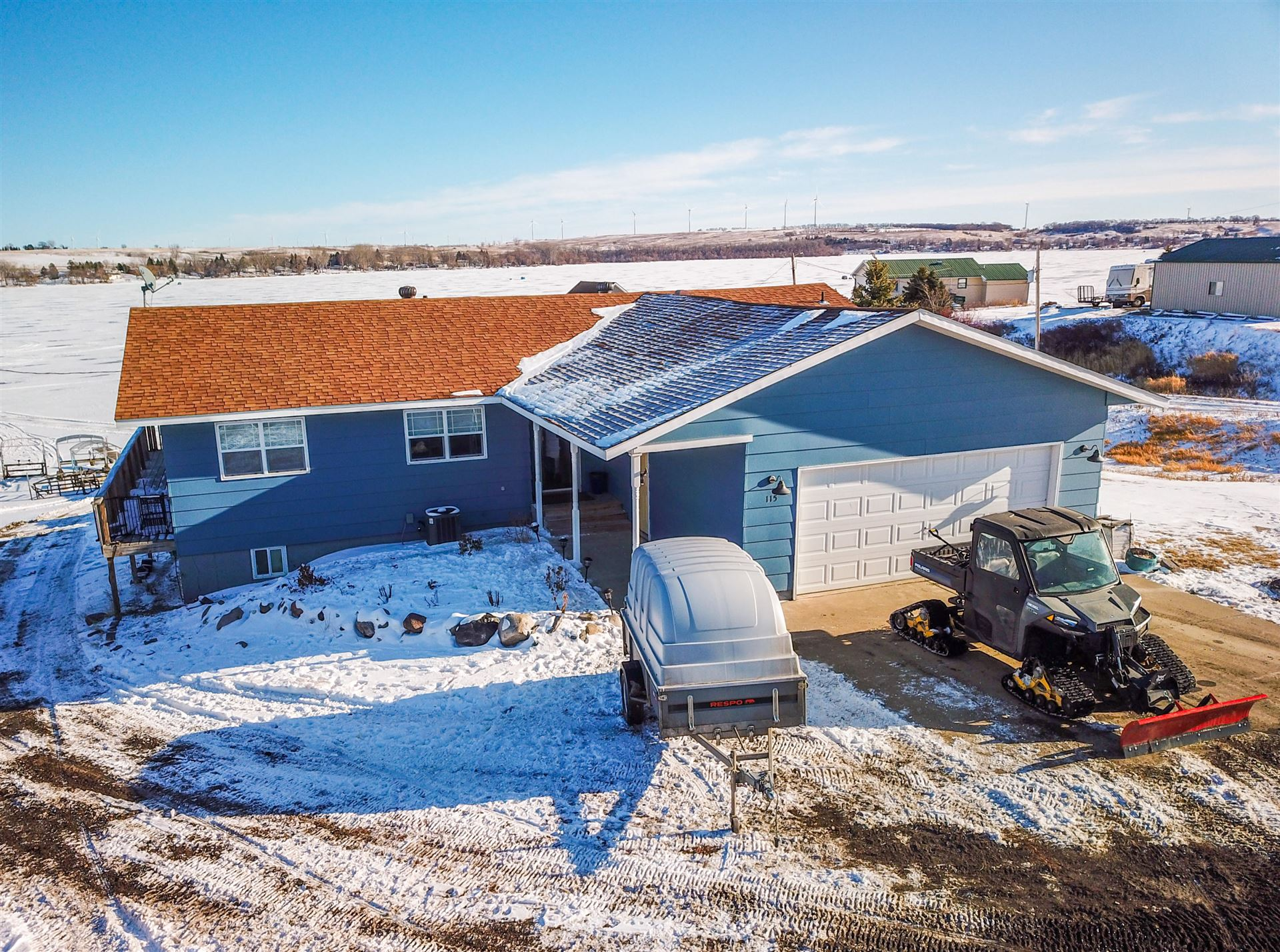 Photo for 2142 116 G Avenue SE, Rogers, ND 58479 (MLS # 21-2)
