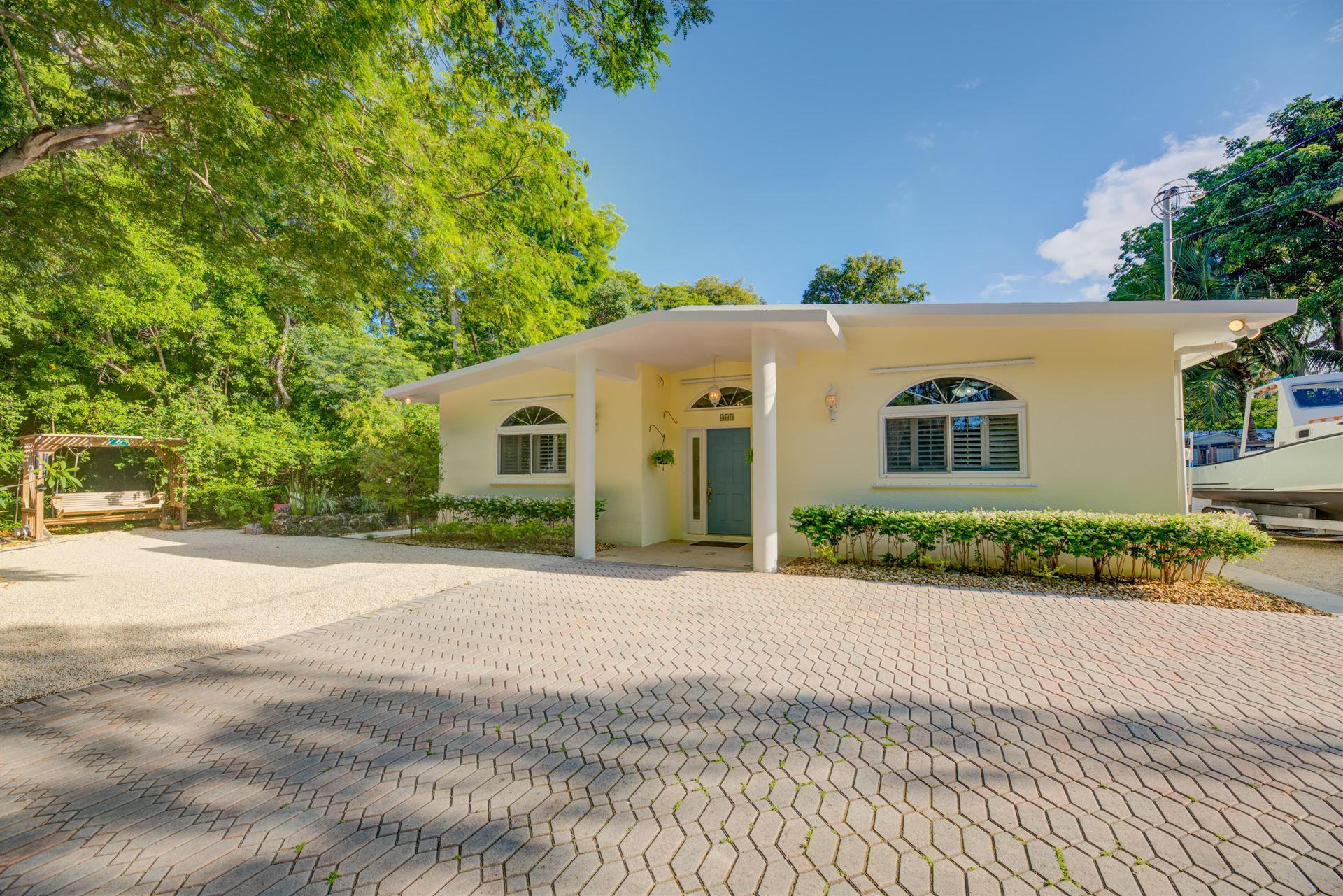 467 Barracuda Boulevard, Key Largo, FL 33037 - #: 591003
