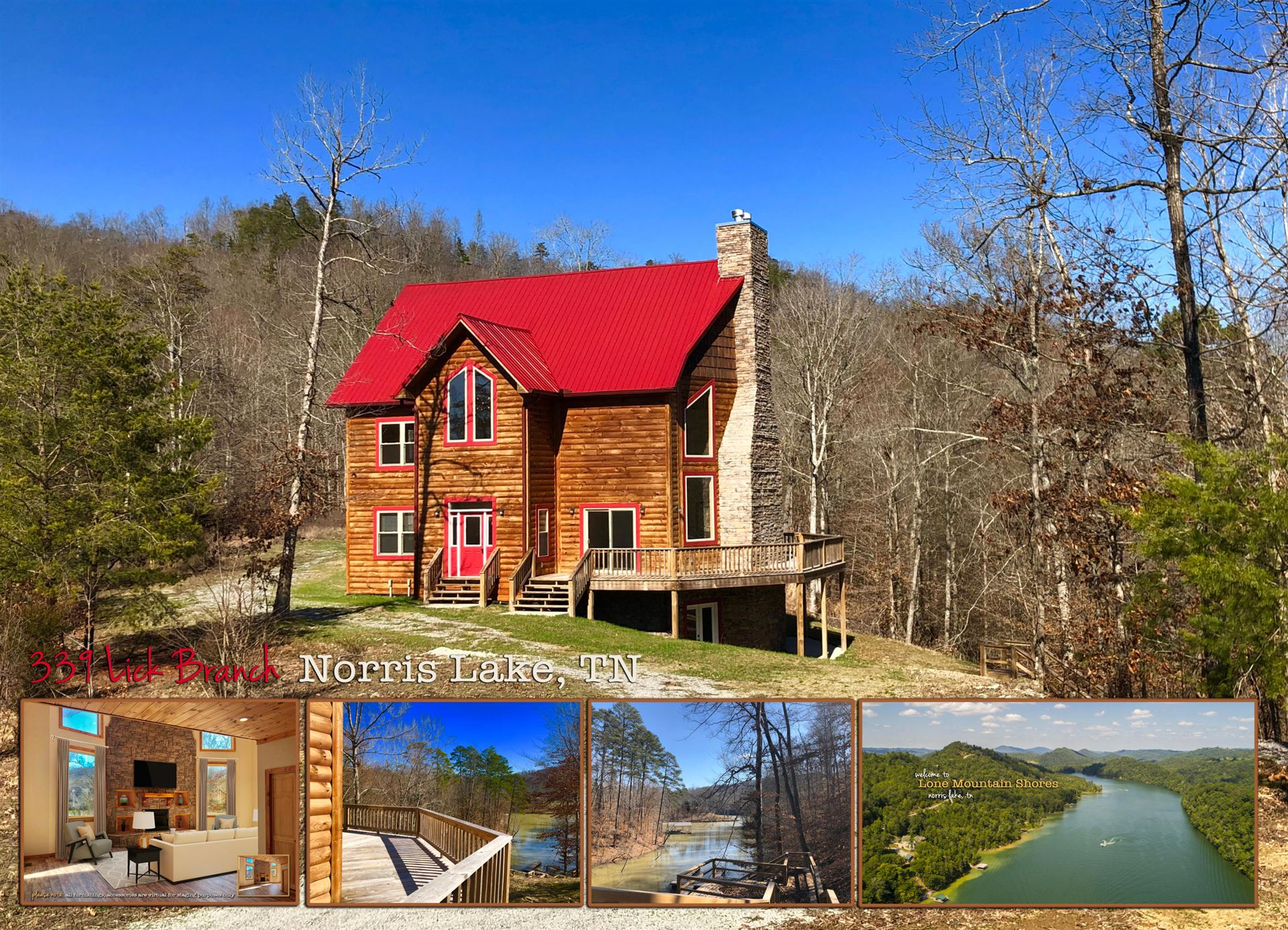 Photo for 339 Lick Branch, New Tazewell, TN 37825 (MLS # 1111426)
