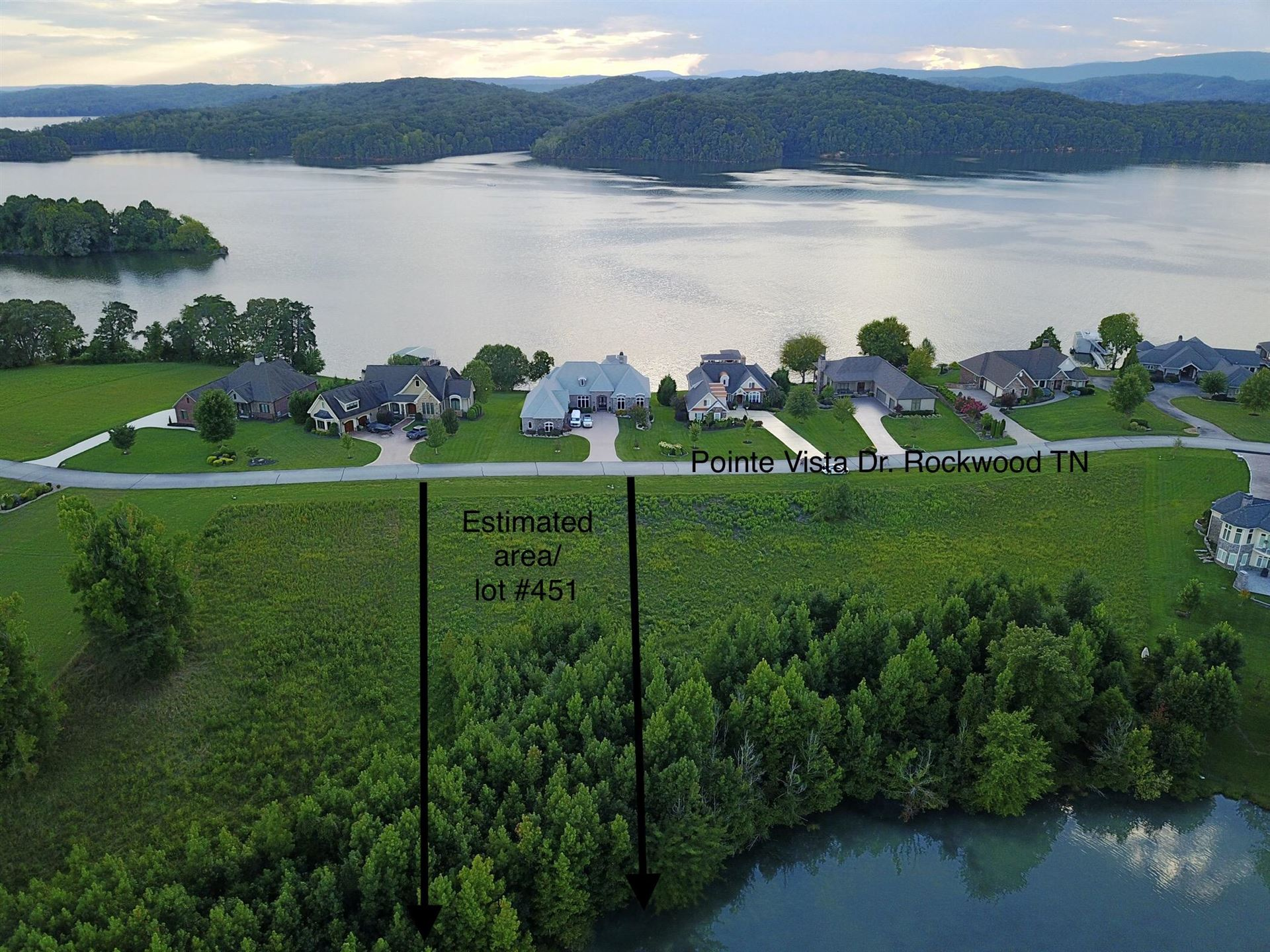 Photo for Pointe Vista Drive #Lot 451, Rockwood, TN 37854 (MLS # 1130824)