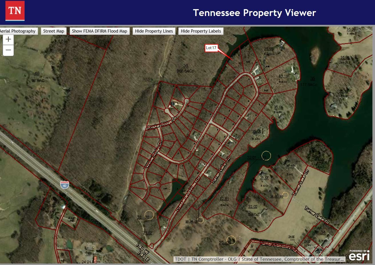 Photo for Cumberland View Drive, Crossville, TN 38571 (MLS # 1116827)