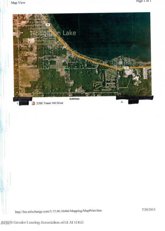 Photo of 2356 S Tower Hill Road, Houghton Lake, MI 48629 (MLS # 245293)