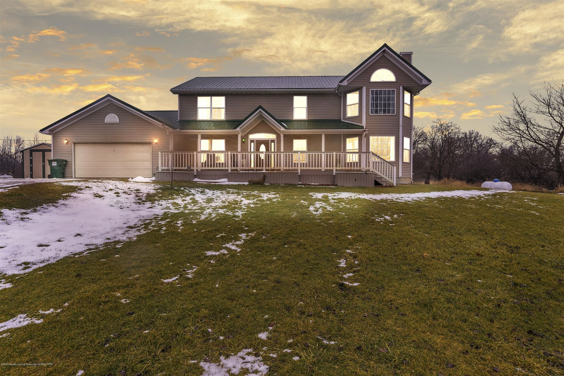 Photo of 2471 E Braden Road, Perry, MI 48872 (MLS # 243794)