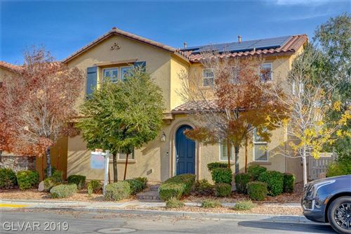 Photo of 2032 TINTED CANVAS Street, Henderson, NV 89044 (MLS # 2159006)
