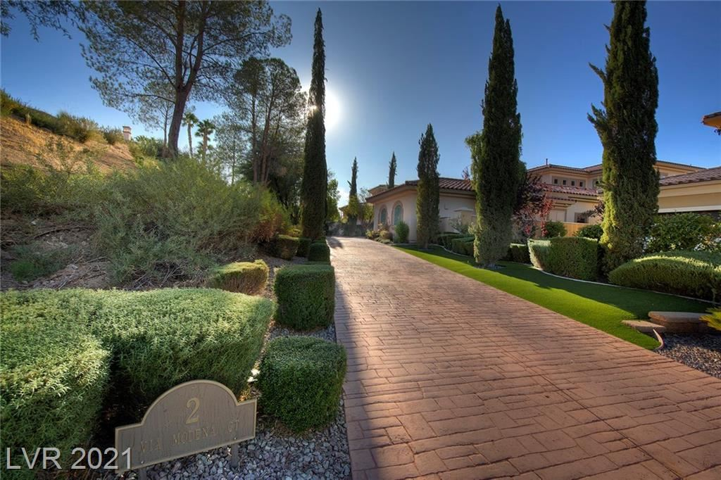 Photo of 2 Via Modena Court, Henderson, NV 89011 (MLS # 2330028)
