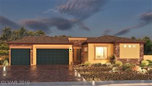 Photo of 7024 Appaloosa Ridge Street #Lot 81, Las Vegas, NV 89131 (MLS # 2144030)