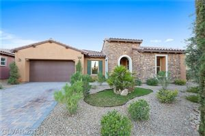Photo of 89 CONTRADA FIORE Drive, Henderson, NV 89011 (MLS # 2118060)
