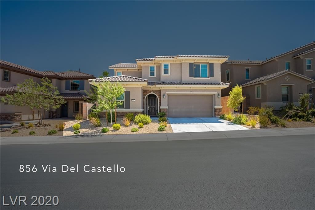 Photo of 856 Via Del Castello, Henderson, NV 89011 (MLS # 2218063)