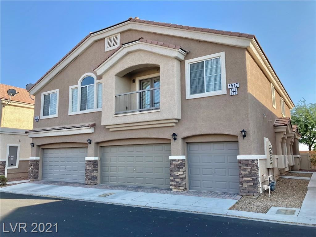 Photo of 4517 Bell Cord Avenue #101, North Las Vegas, NV 89031 (MLS # 2334063)
