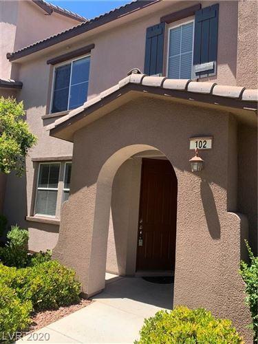 Photo of 11478 Ogden Mills #102, Las Vegas, NV 89135 (MLS # 2185095)