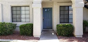 Photo of 4735 Nara Vista Way #103, Las Vegas, NV 89143 (MLS # 2108096)